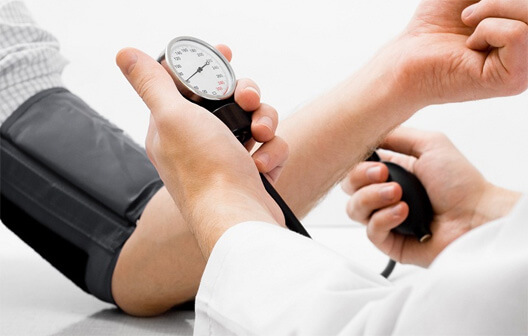 patient blood pressure test